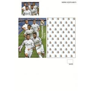 Parure de lit Real Madrid 140x200 cm