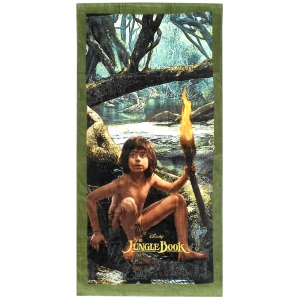 Jungle Book beach towel