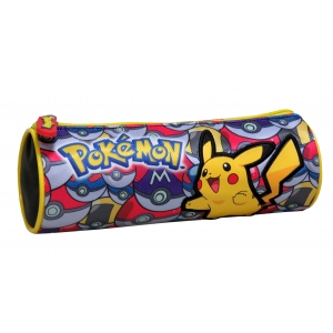 Pokemon Cylindrical Pencil Case