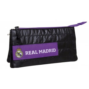 Real Madrid Soft Triple Pencil Case
