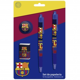 FC Barcelona Stationery Set in Blister