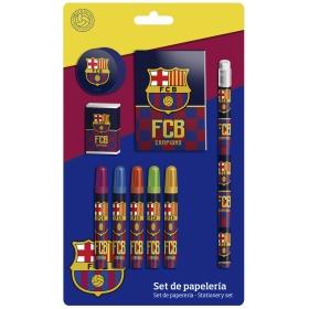 FC Barcelona 9 pcs. Stationery Set