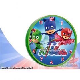 Pj Masks wall clock