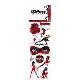 Miraculous, les aventures de Ladybug et Chat Noir Jumbo Removable Vynil Stickers