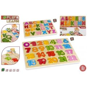 Puzzle numbers / alphabet