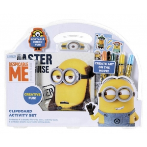 Minions clipboard activity set