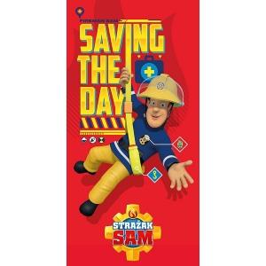 Fireman Sam beach towel