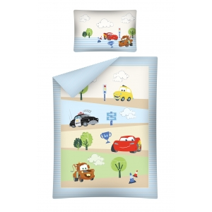 Cars bedset - 100x135 cm