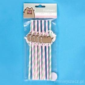 Pusheen straws 10 pack