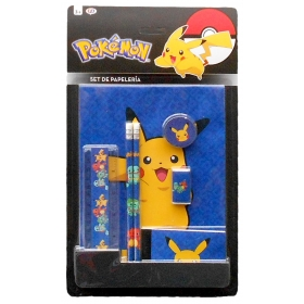 Pokemon Stationery Set – 7 pcs.