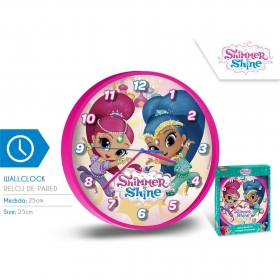 Shimmer and Shine wallclock