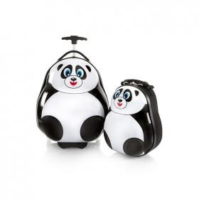 Travel Tots Panda - Kids Luggage trolley & Backpack Set