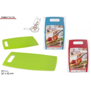 Two-side plastic cutting board 37x23 cm