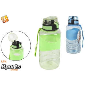 Sports water bottle 1.2l
