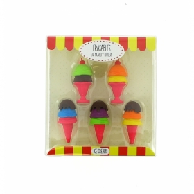 Ice Cream Erasables