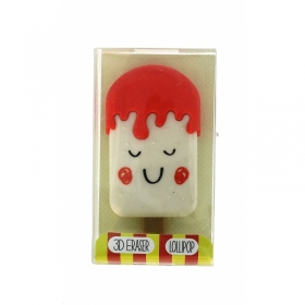 Small Lollipop Erasables