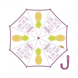 Zaska automatic umbrella - pineapple