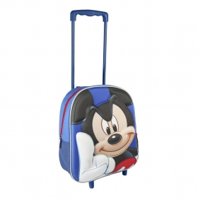 Mickey Mouse 3D trolley bagpack 31 cm