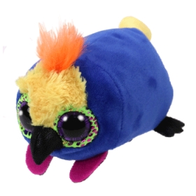 Teeny Tys Diva - parrot plush toy 10 cm