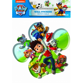 Paw Patrol wall sticker graphics  1 sheet