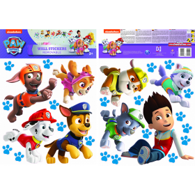 Paw Patrol wall sticker run 2 sheets