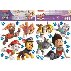 Paw Patrol wall sticker run 2 sheet