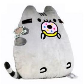 Pusheen cushion - Hello