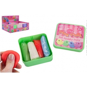 Slime stick play putty in pastel colours 4 pcs