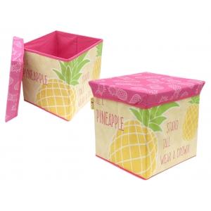Zaska storage bin - pineapple