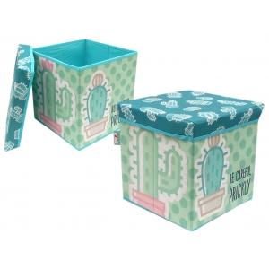 Zaska storage box - cactus