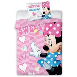 Minnie Mouse baby bedset 100x135 cm