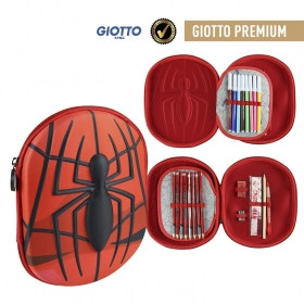 Spiderman 3D pencil case with accessories