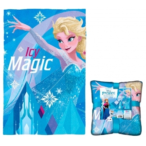Frozen fleece blanket