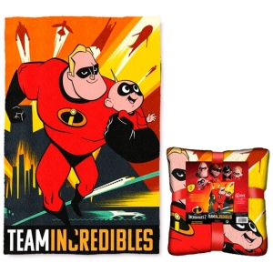 The Incredibles fleece blanket