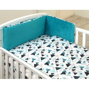 Baby bedding set 5 elements Aztec-Minky