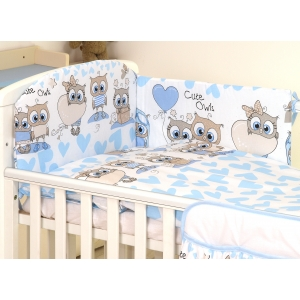Baby bedding set 5 elements Owl