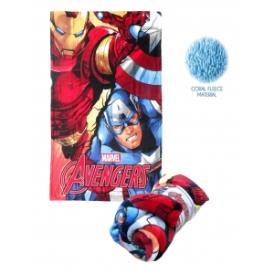 Avengers coral fleece blanket
