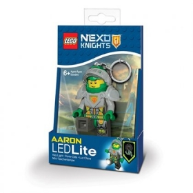 Lego Nexo Knights keychain with LED torch – Aaron