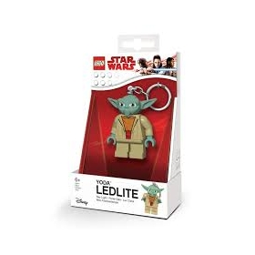 Lego Star Wars keychain with LED torch – Yoda