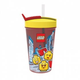 Lego Iconic bottle with straw