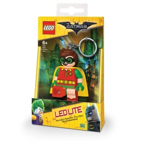 Lego Batman Movie keychain with LED torch – Robin