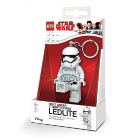 Lego Star Wars keychain with LED torch –  First Order Stormtrooper