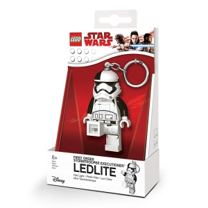 Lego Star Wars Stromtrooper keychain with LED torch