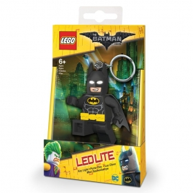 Lego Batman Movie Batman keychain with LED torch