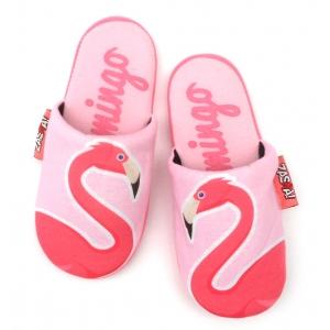 Zaska slippers - flamingo