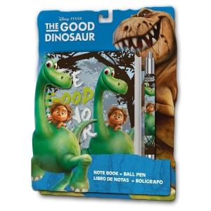 The Good Dinosaur writing set - notebook + ball pen