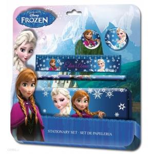 La Reine des neiges stationary set - pencil case + accessories
