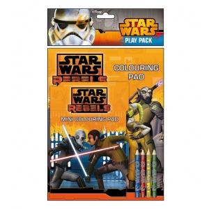 Star Wars colouring pad