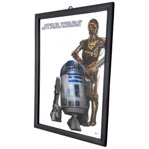 Star Wars wall mirror