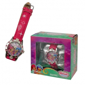 Shimmer and Shine wrist watch in gift box